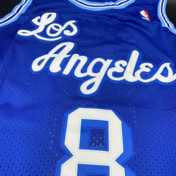 Mitchell & Ness Shirts   Kobe Bryant Royal Los Angeles Lakers ...